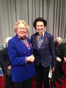 My lovely Nan with Dame Beryl Grey