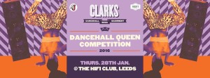 Clarks Dancehall Queen Competition at HiFi, Leeds