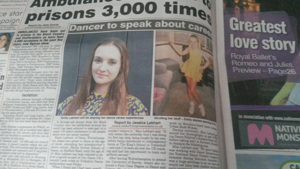 Featured in Express and Star Wolverhampton