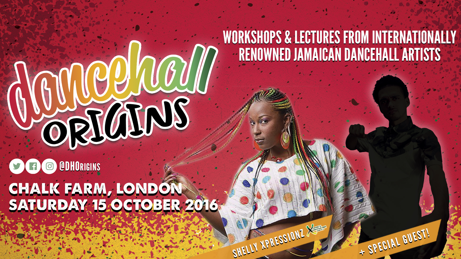 Dancehall Origins, 15 Oct 2016