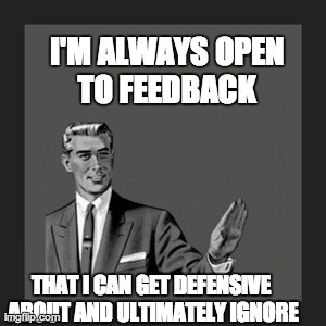 I love feedback!