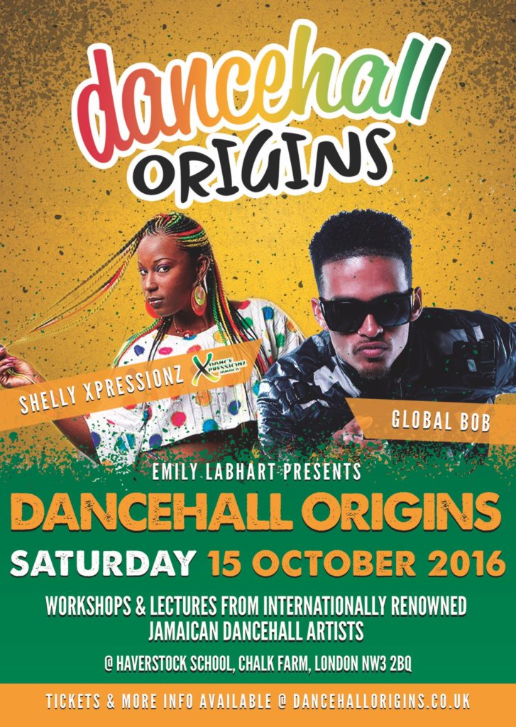 Dancehall Origins, 15th October 2016