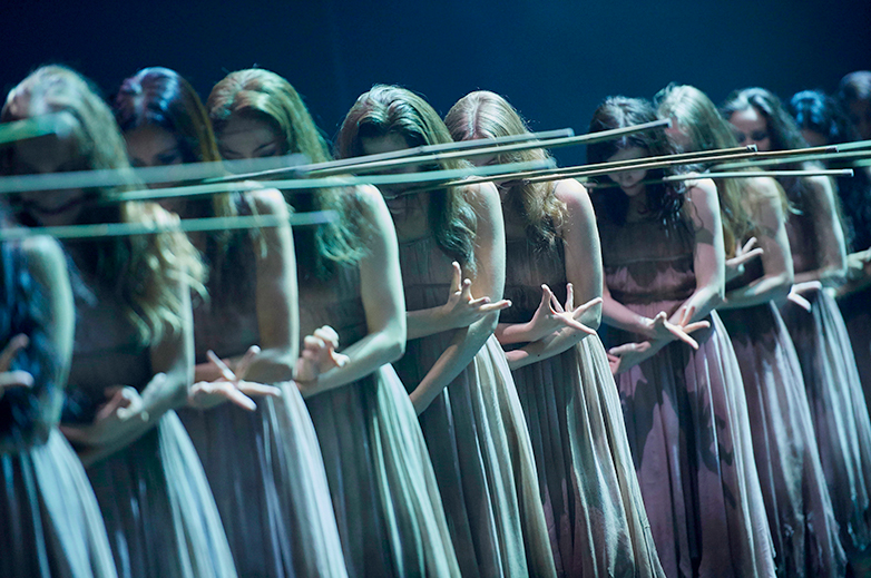 Akram Khan's Giselle for ENB, © Laurent Liotardo